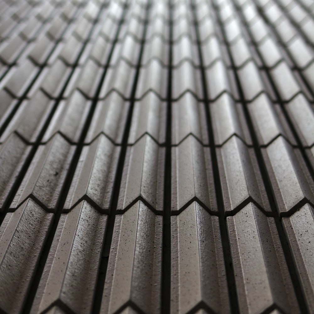 brown and gray roof tiles
