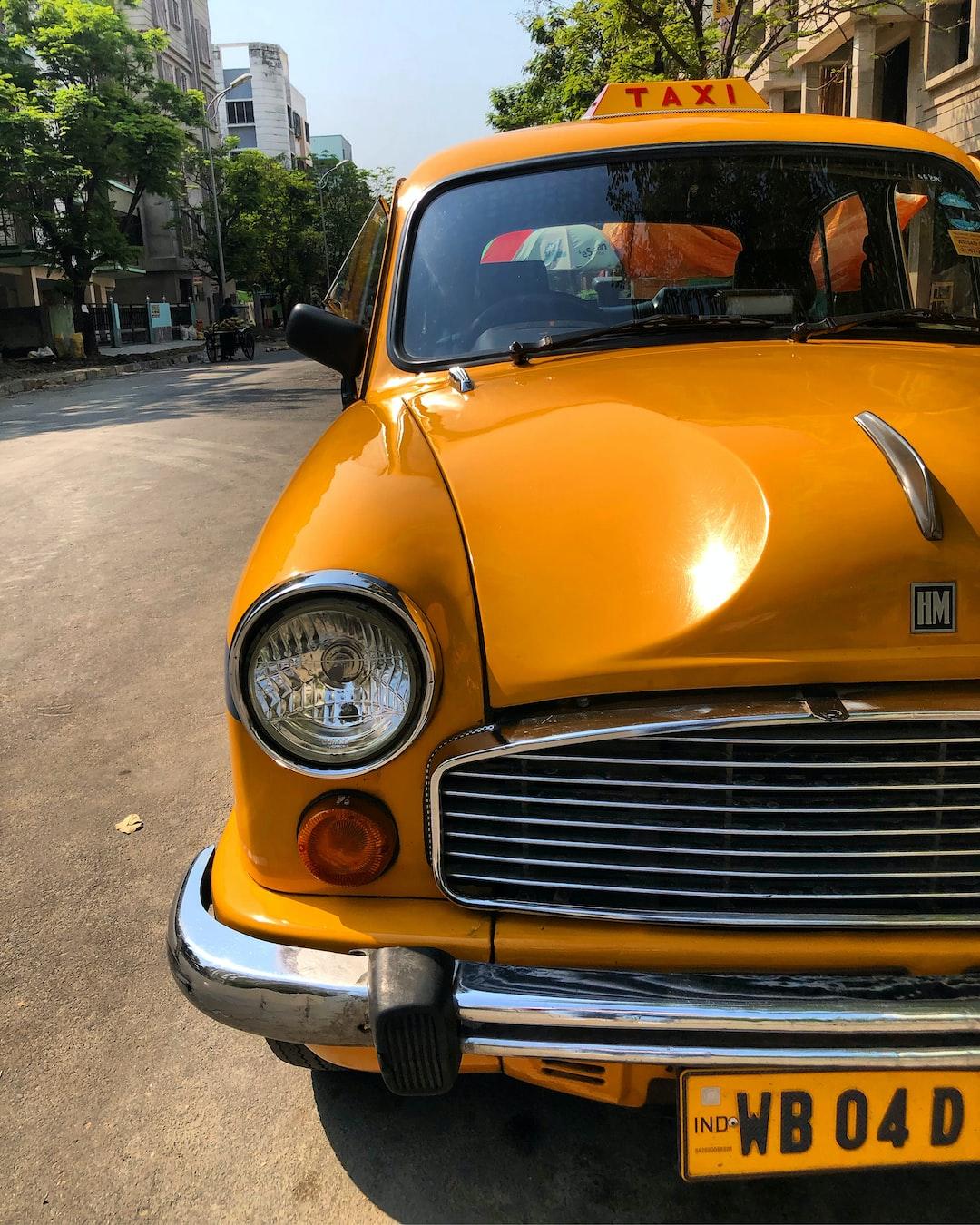 Kolkata taxi.
