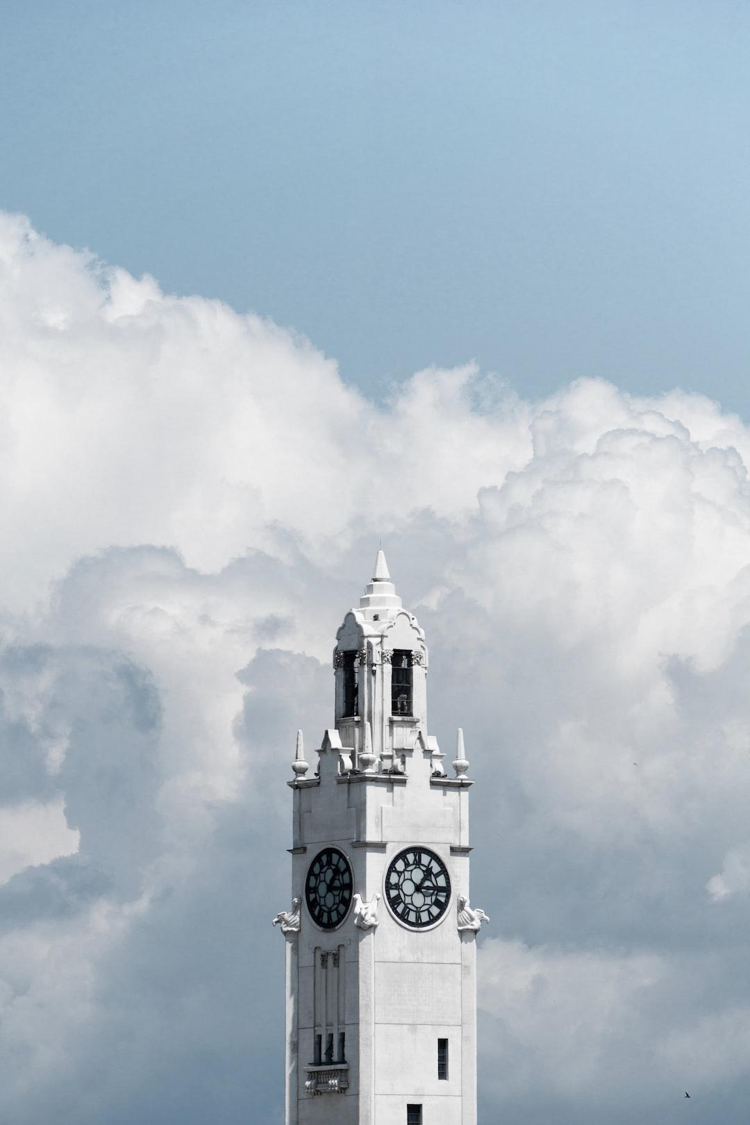 Tour de l'horloge, Vieux-Port de Montréal