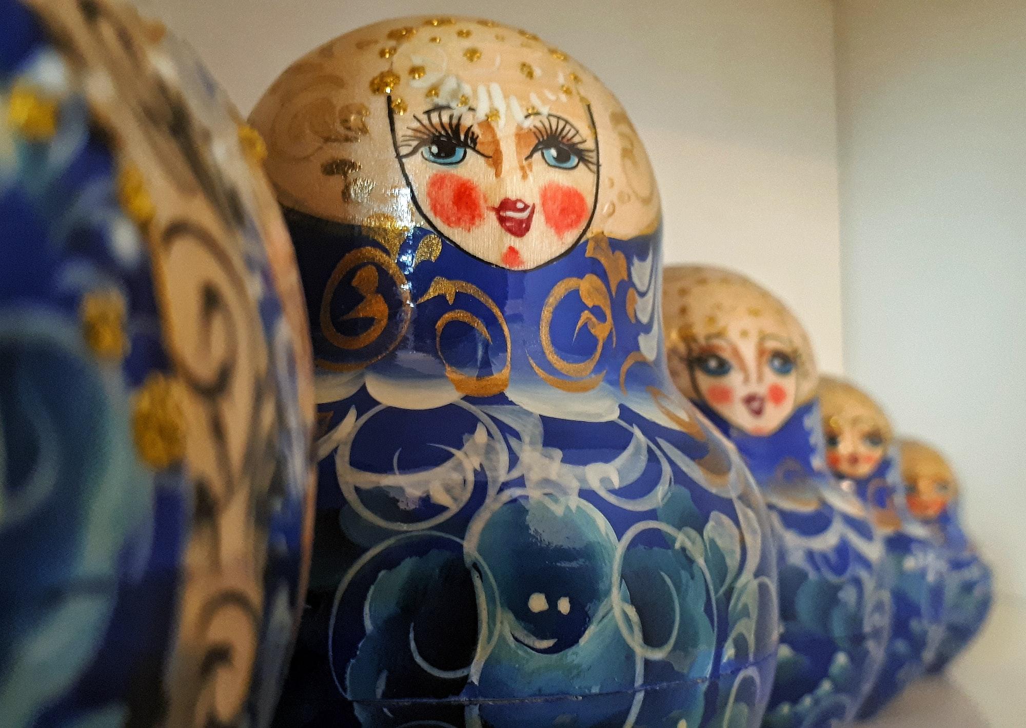 Matryoshkas - Russian nesting dolls