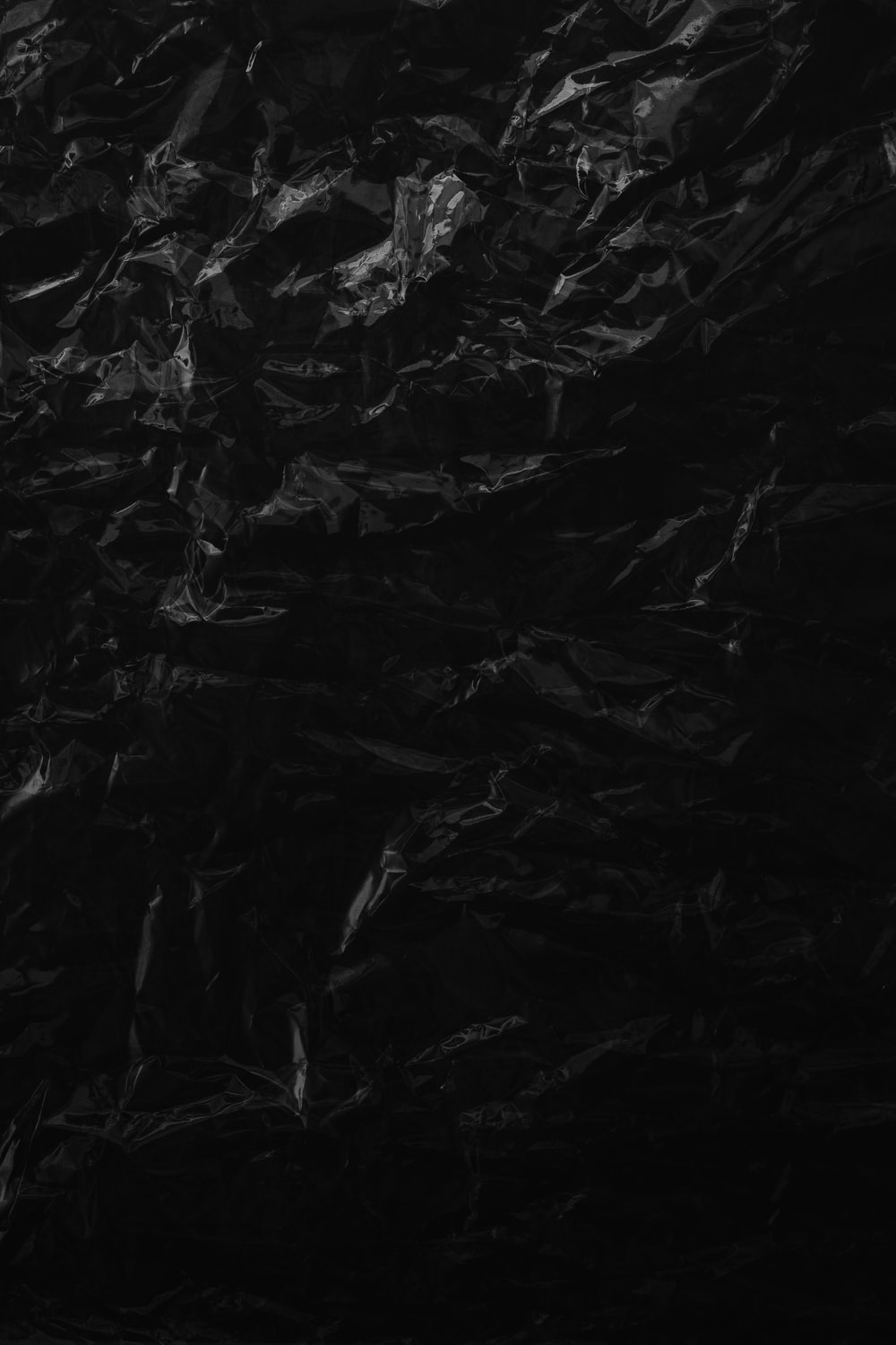 black and white abstract painting