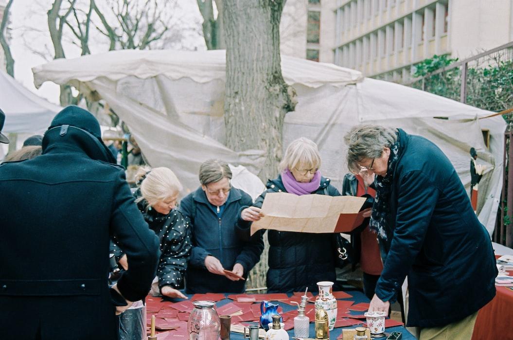 Paris flea market, Best Flea Markets in Europe