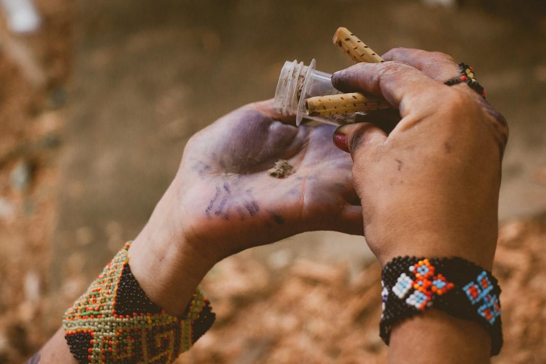 Rapé, medicina ancestral.