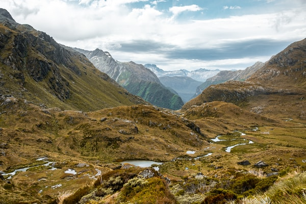 routeburn track one of the great walks of new zealand