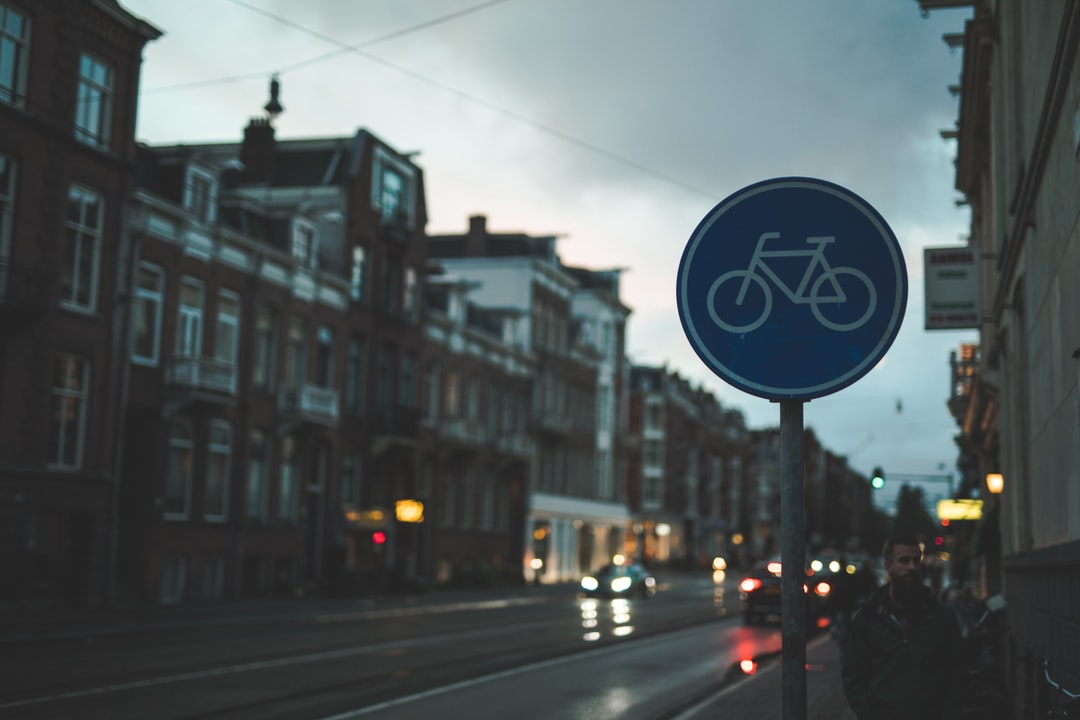 Blue and White Stop Sign - unsplash