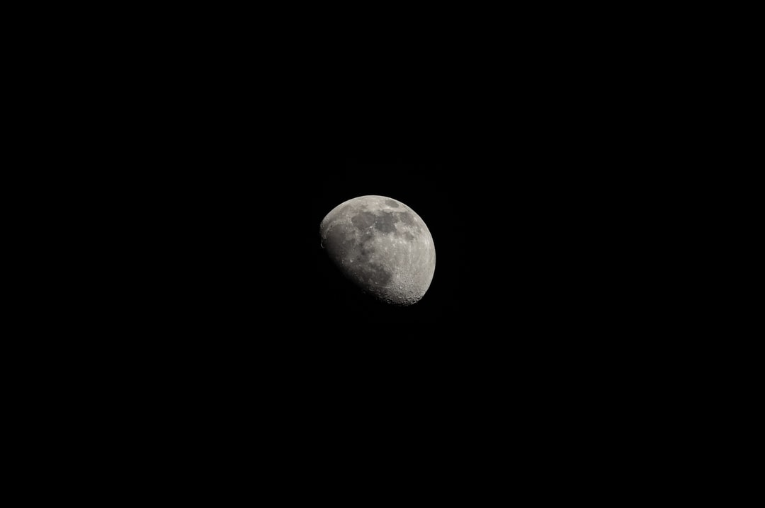 A Shot of the Moon Taken On 3rd April 2020, During the Uk Lockdown - unsplash
