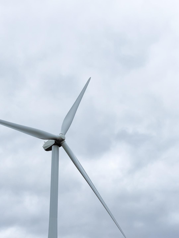 Mount Wallace wind turbine in Victoria, Australia.