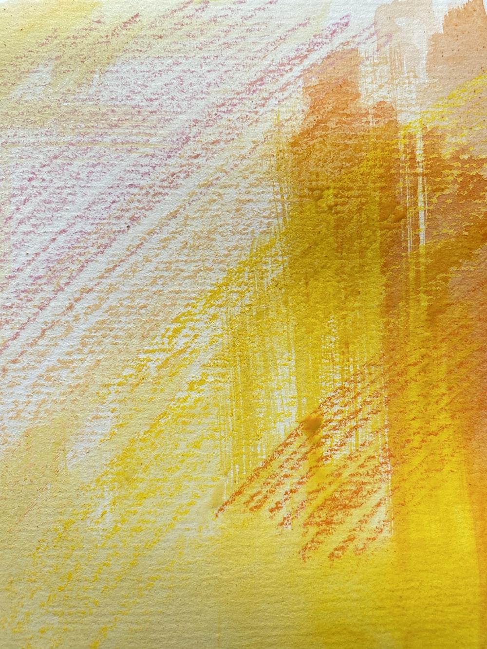 yellow and white stripe textile