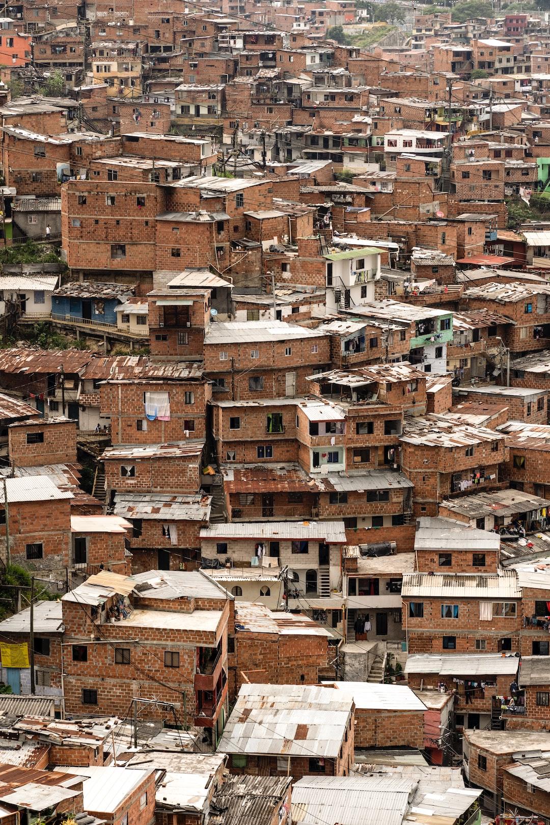 Comuna 13, medellin, colombia, barrio, ghetto
