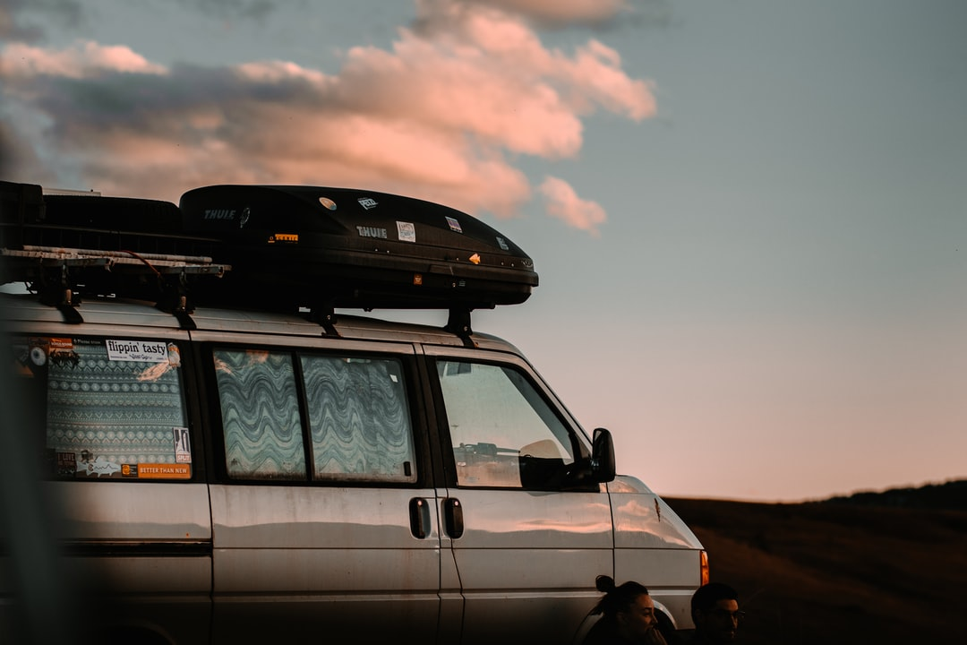 White Suv On Brown Field During Sunset - unsplash