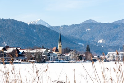 View of Rottach-Egern, Germany.