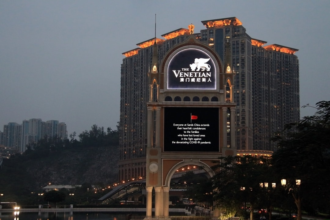 Macau Casinos mourning those lost to COVID-19 by instruction and in compliance with a notice issued by China's State Council.
