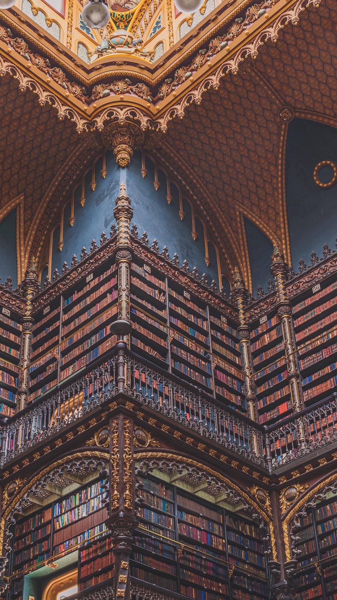 Royal Portuguese Reading Room - Rio de Janeiro, Brazil