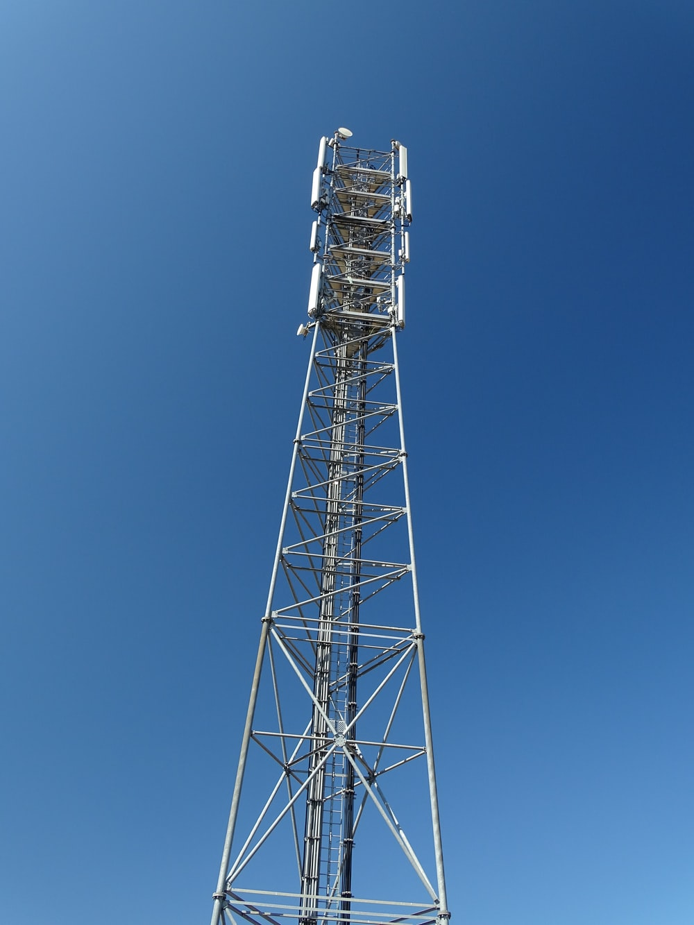 gray steel tower under blue sky during daytime
