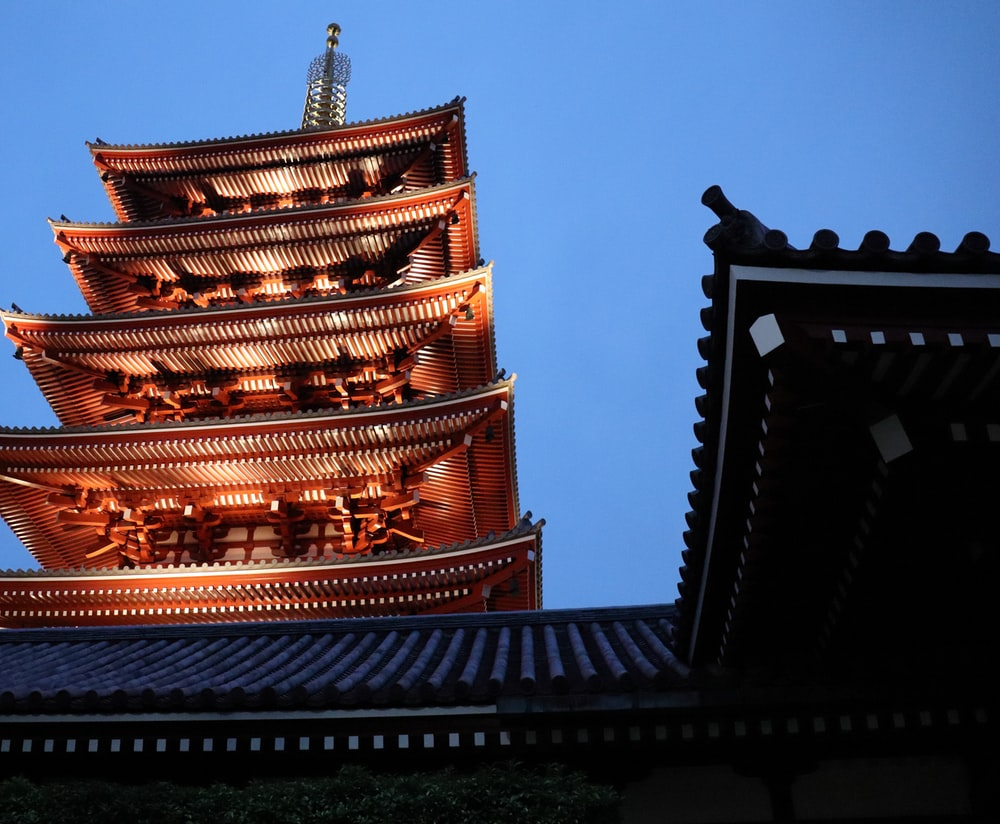 brown and black temple under blue sky during daytime