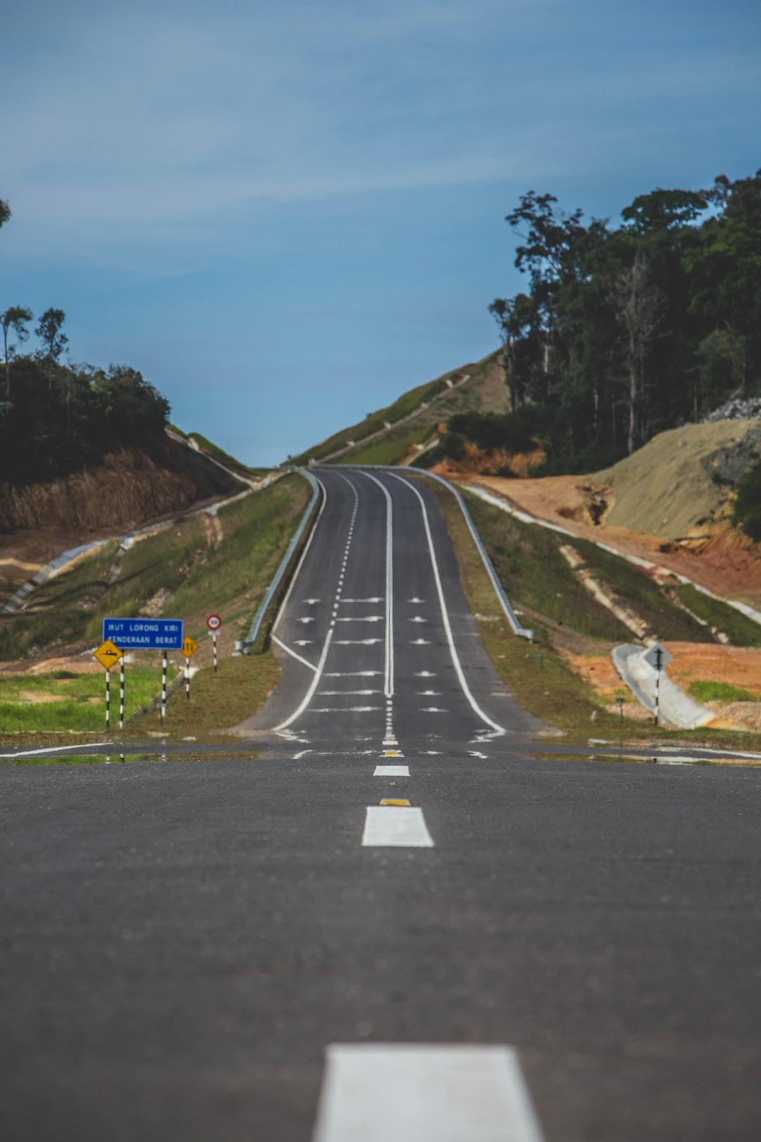 Pan Borneo Highway at Sematan, Sarawak