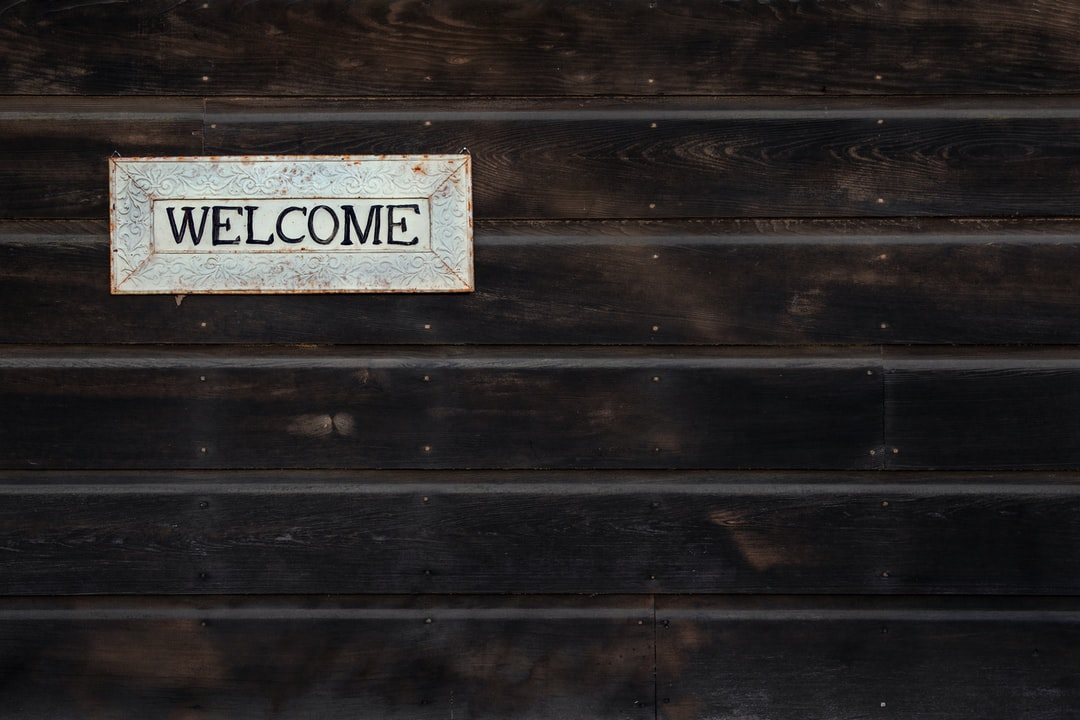 Welcome - unsplash
