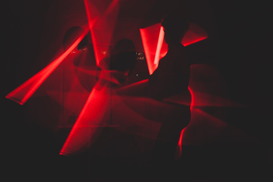 Red and Black Abstract Art - unsplash