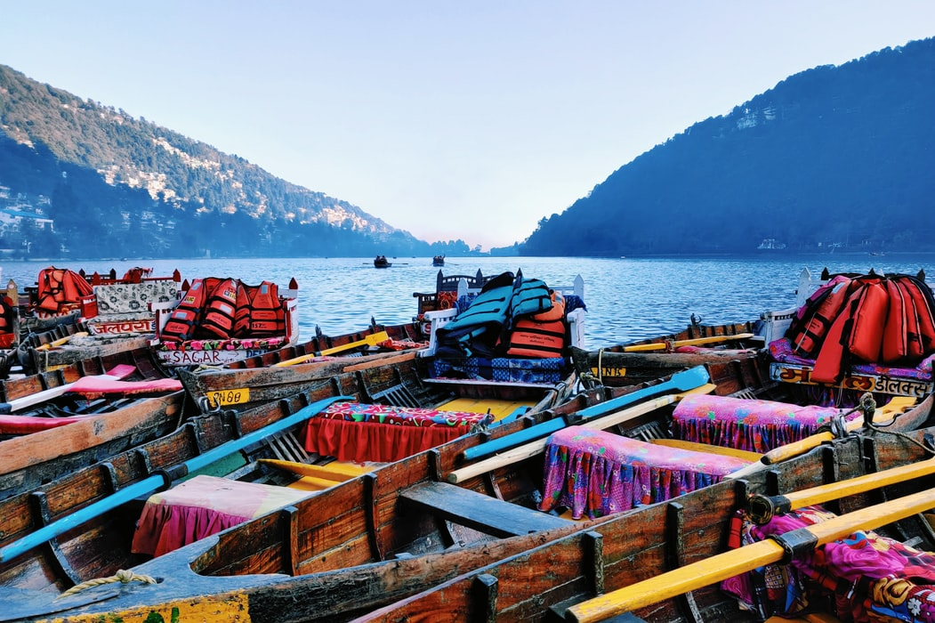 Lake in Nanital