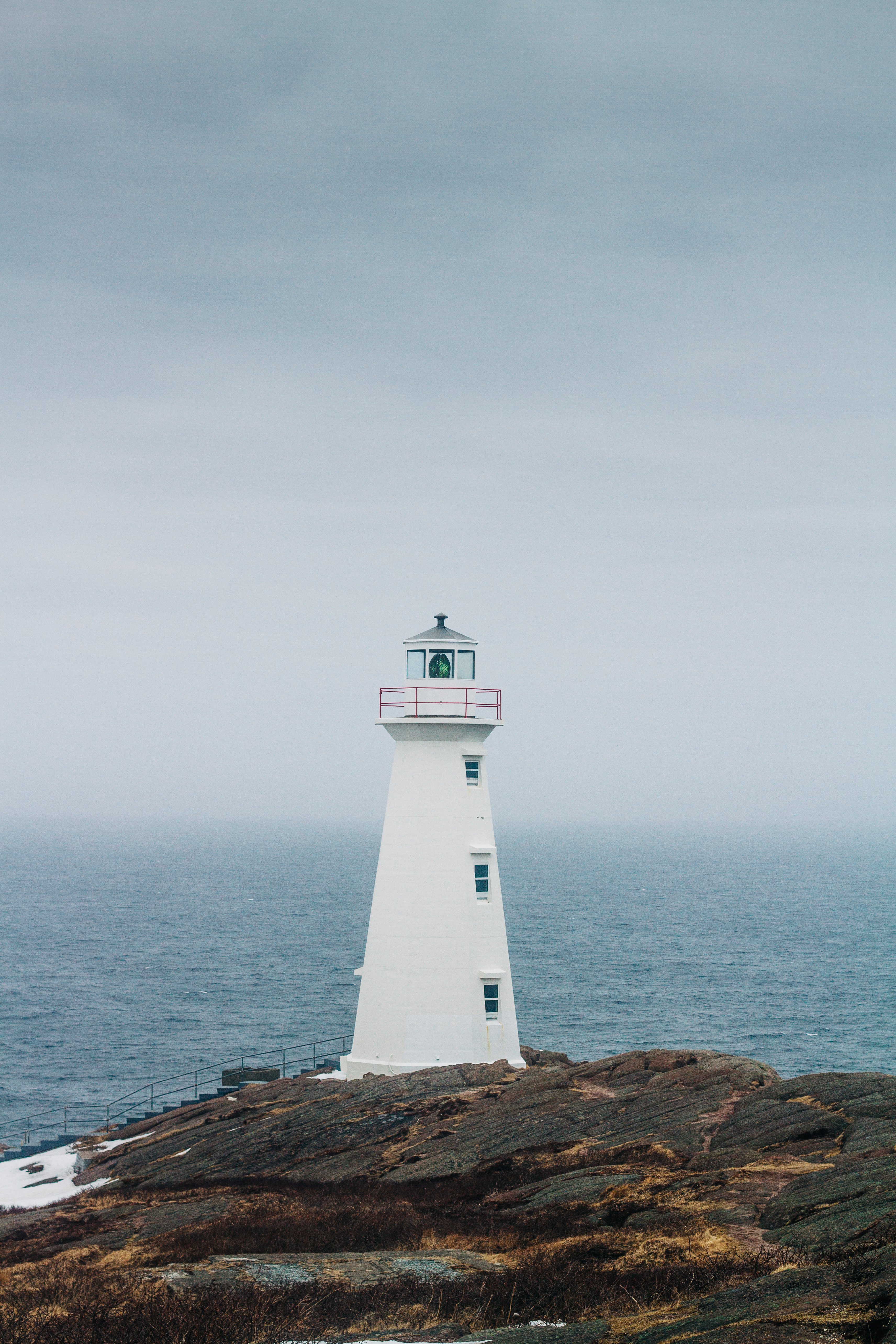 Lighthouse in White