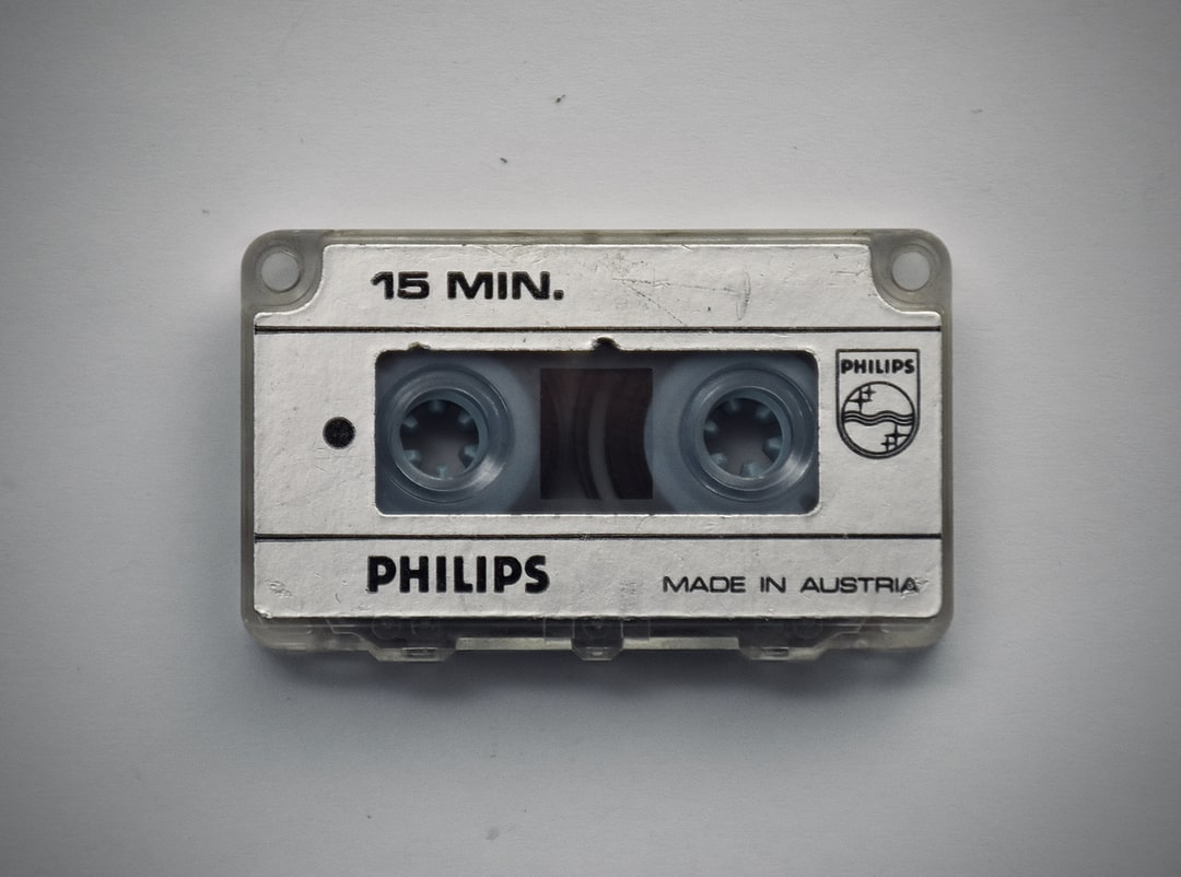 A very old 15 min microcassette for Philips dictation device (see other photo), made in Austria, in the 1970s. Still works and I have board meeting protocols spoken by my father on them.