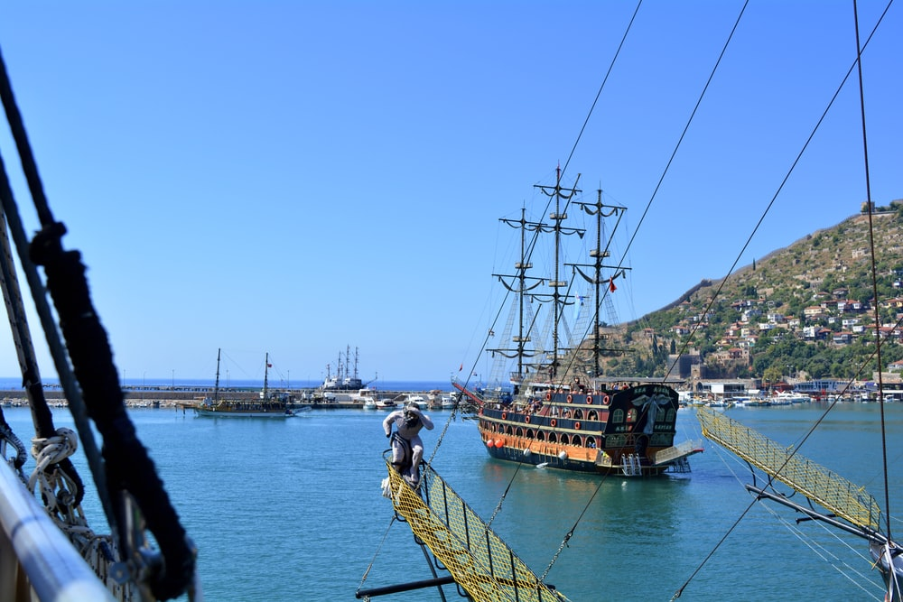 people on ship during daytime