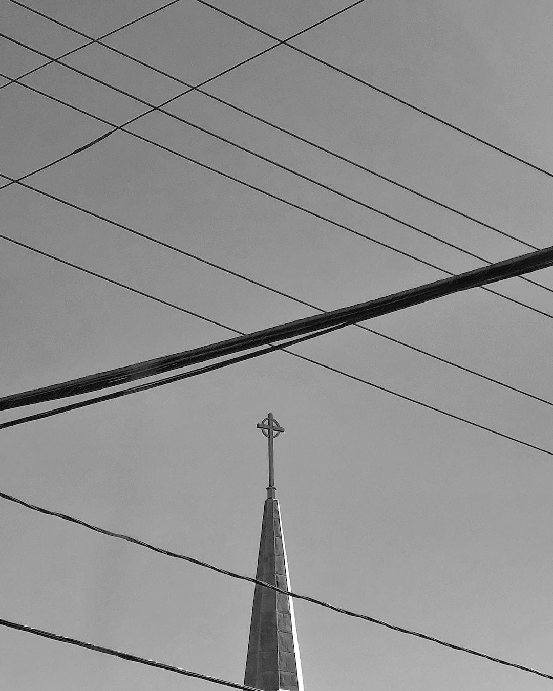 Power lines & religion