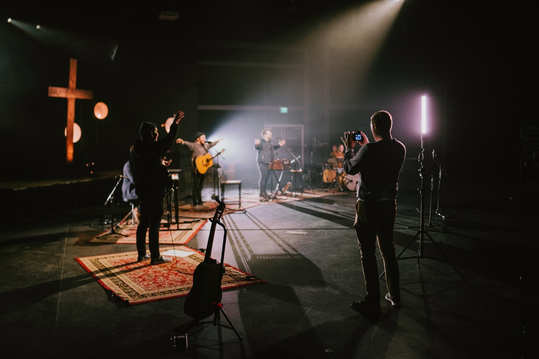 Behind the Scenes of A Worship Shoot For the Online Congregation of North Coast Church In the Midst of the Corona Virus Quarantine.  - unsplash