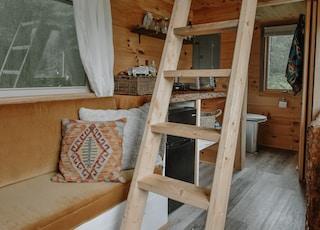Tiny home interior design.