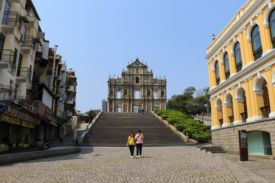 Once overcrowded, now the Macau touristic sites are almost complete empty.