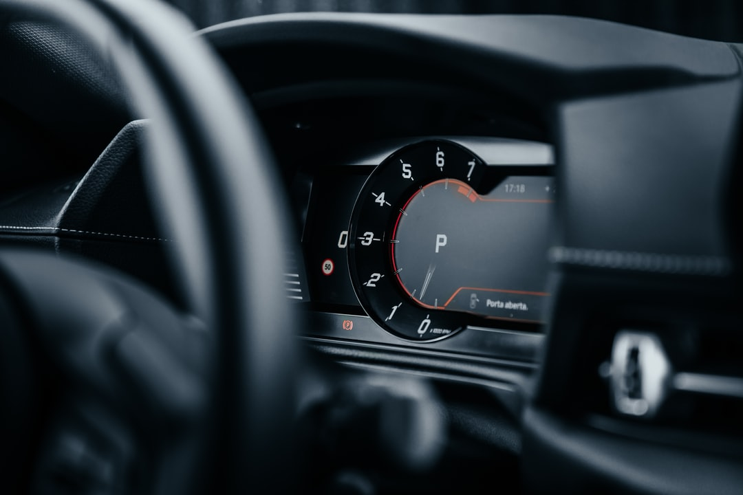 Black Car Instrument Panel Cluster - unsplash