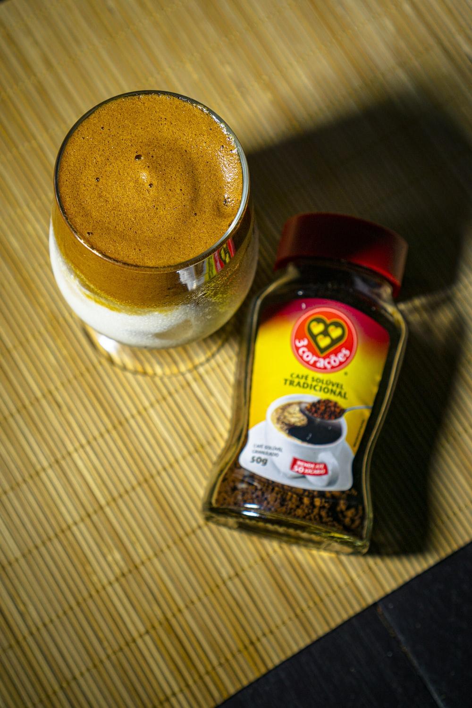 nescafe gold blend coffee bottle