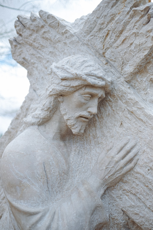 white concrete statue during daytime