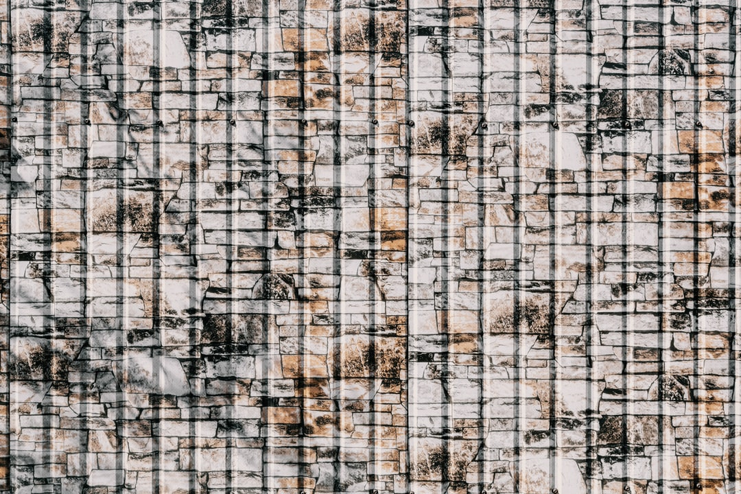 White and Black Abstract Painting - unsplash