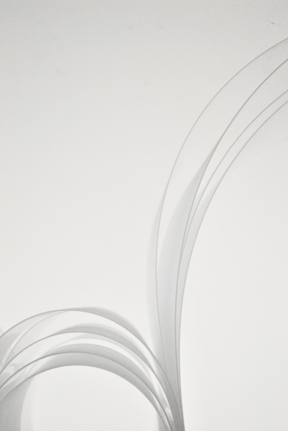white and gray spiral light