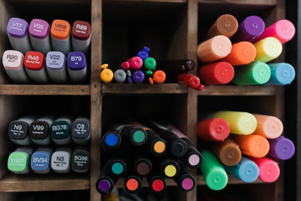 assorted color plastic bottle lot