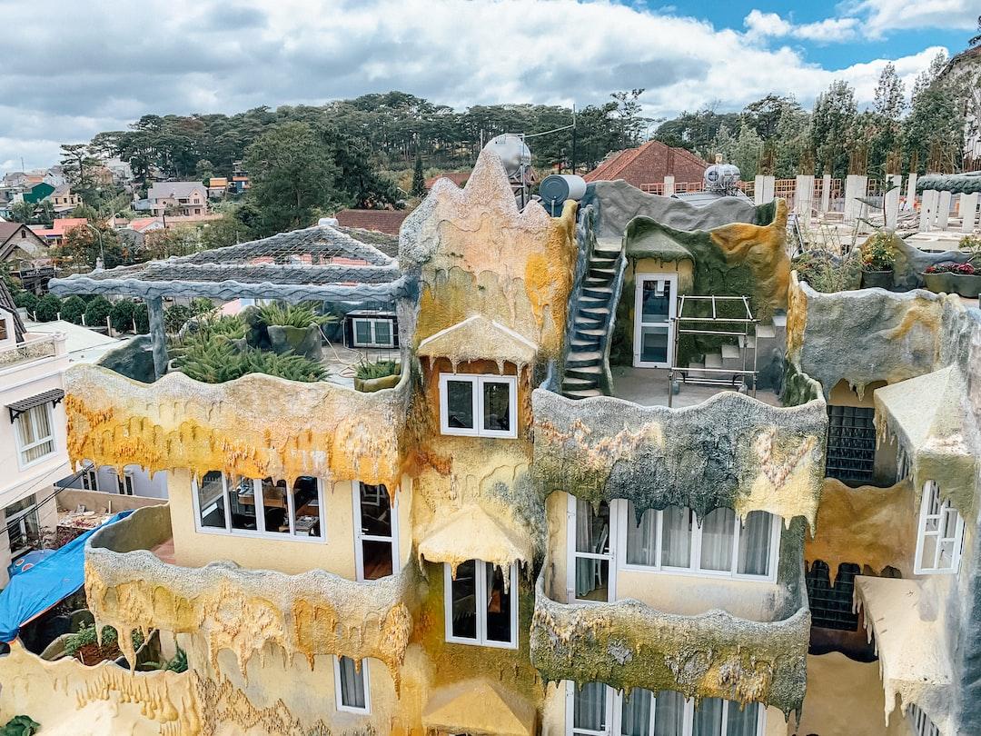 Crazy architecture - crazy house Da Lat Vietnam - Hằng Nga guesthouse