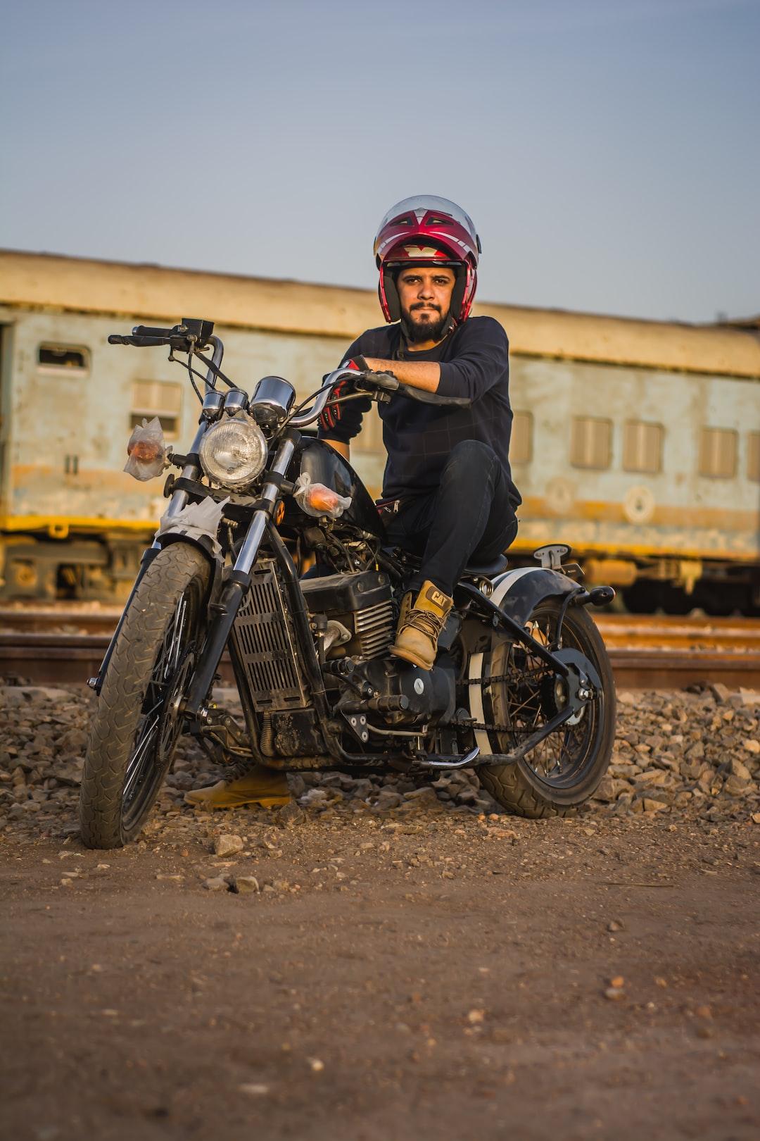 biker in sudan