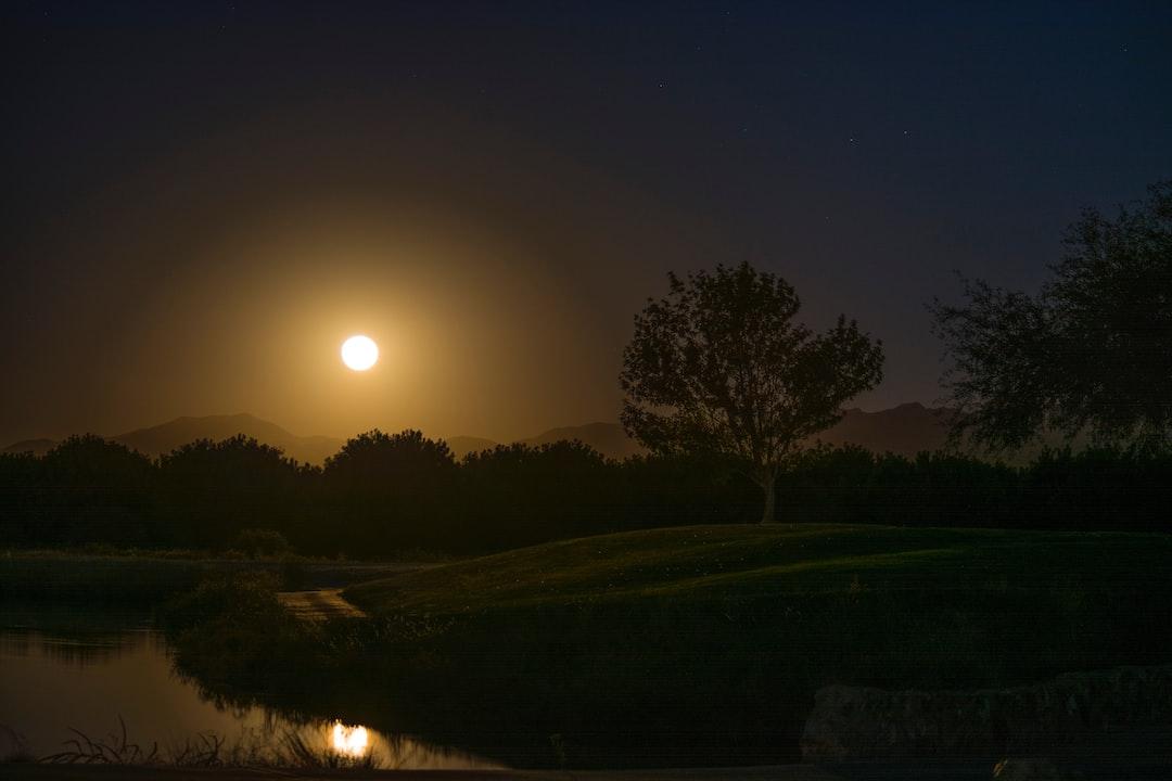 Full Moon a risin'