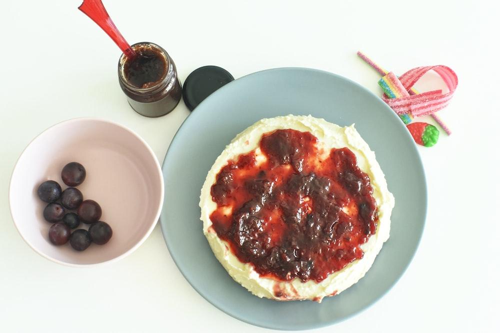 egg pie on white ceramic plate