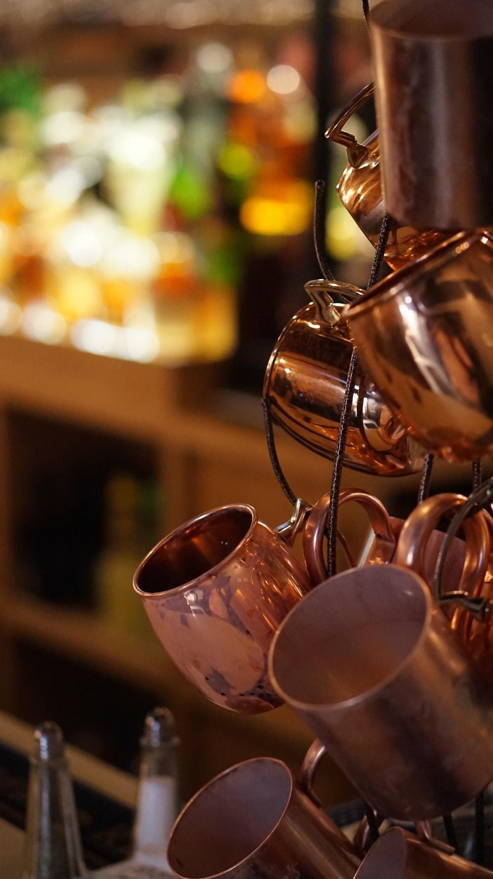 stainless steel tea pot set