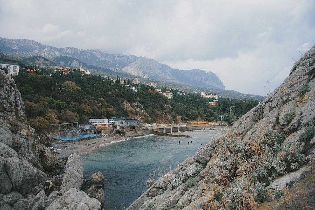 Small bay on Simeiz