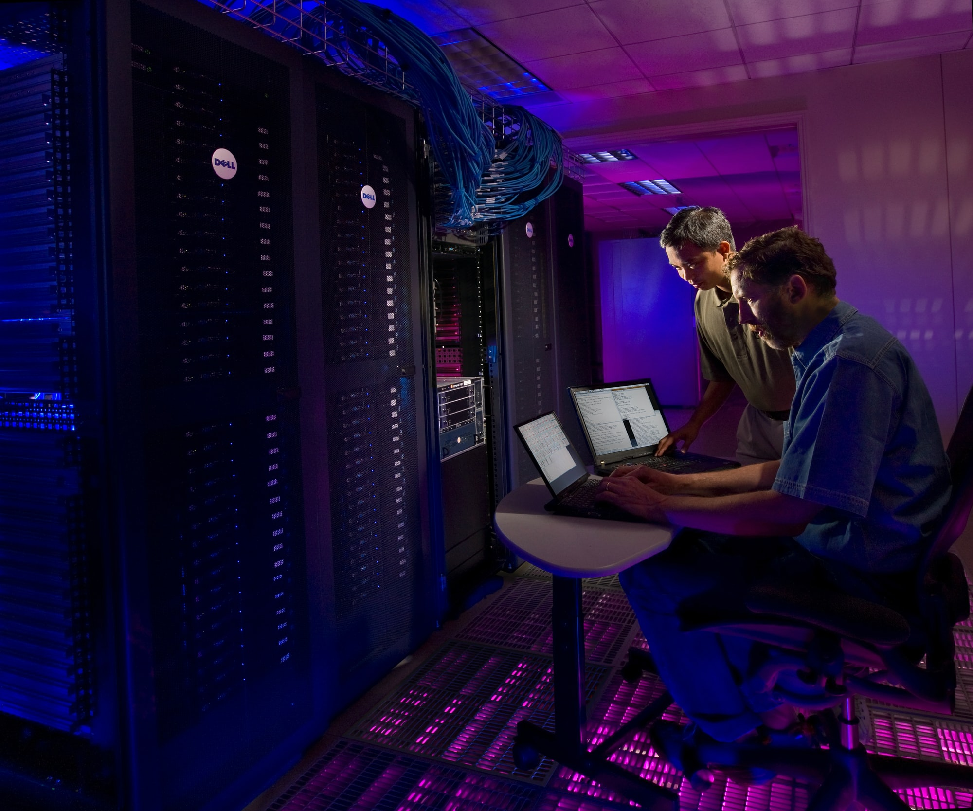 Thunderbird supercomputer at Sandia National Laboratory.