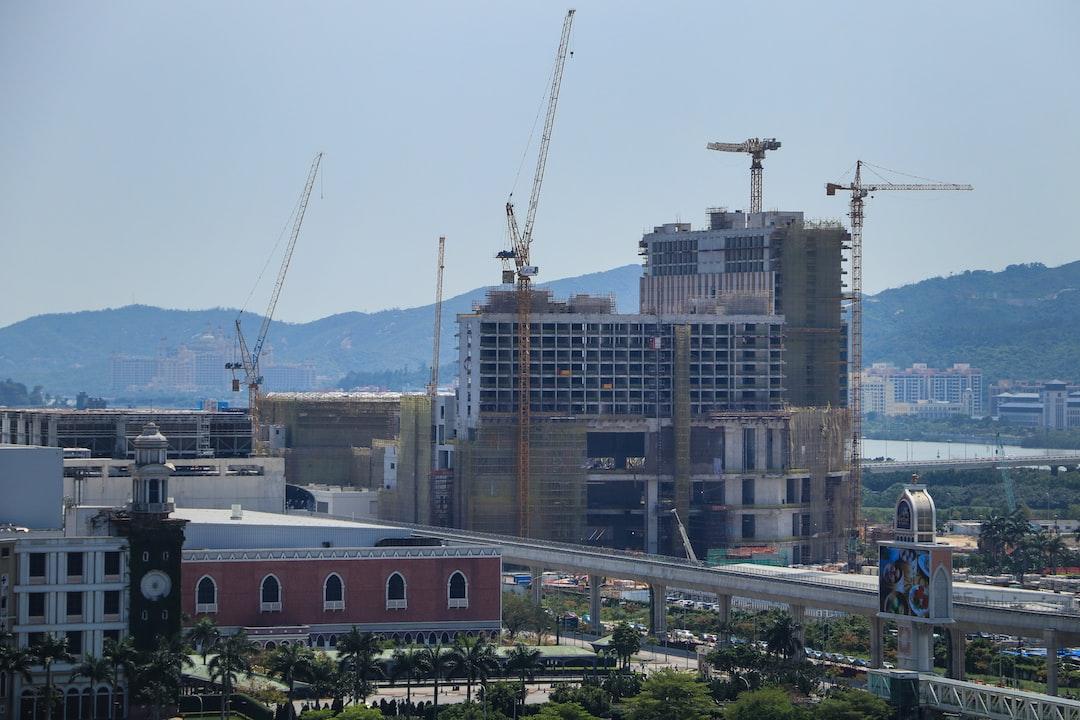 Andaz Macau and Galaxy Arena Construction site