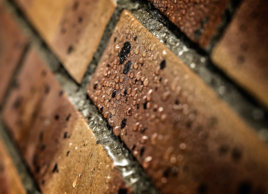 Bricks and drops