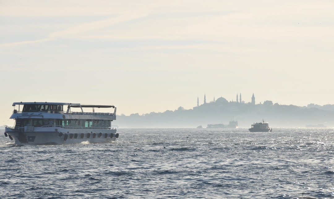 The silhouette of the historical peninsula from Ortakoy, Istanbul