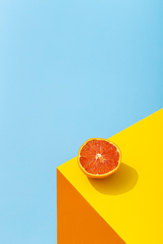 orange and yellow star illustration
