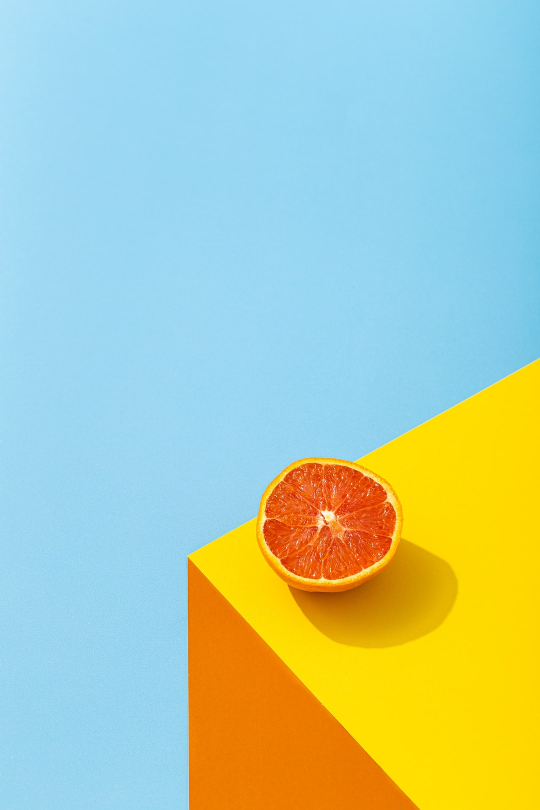 an orange  *Keep track of my latest project, all things about food & product photography here:  - Instagram: https://www.instagram.com/picoftasty/  or  https://www.instagram.com/mae_foodfoto/  - Website: https://www.picoftasty.com/   - Email: picoftasty@gmail.com