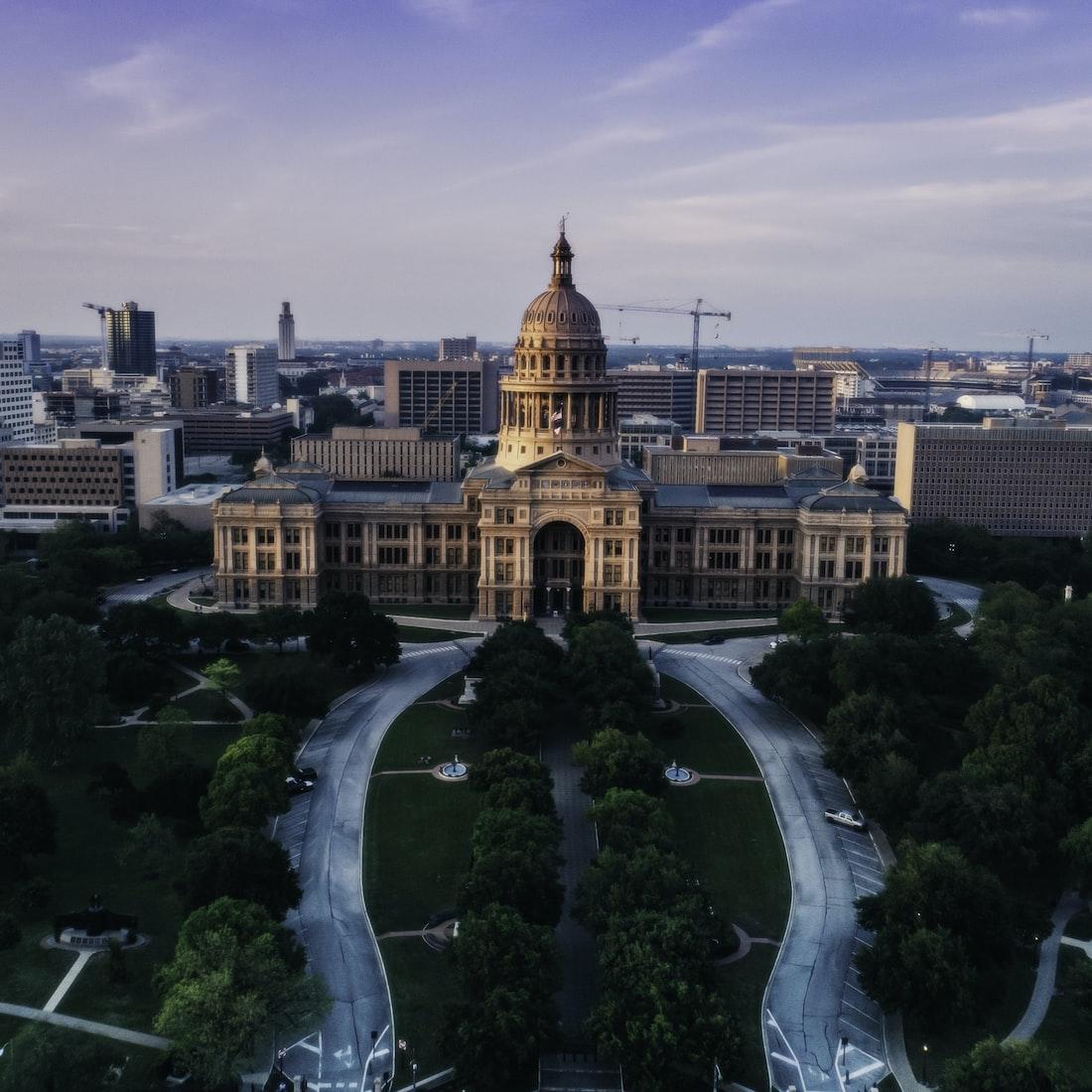 capitol building in Austin, TX