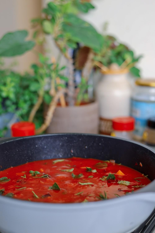 Tomato, Beef and Macaroni Soup